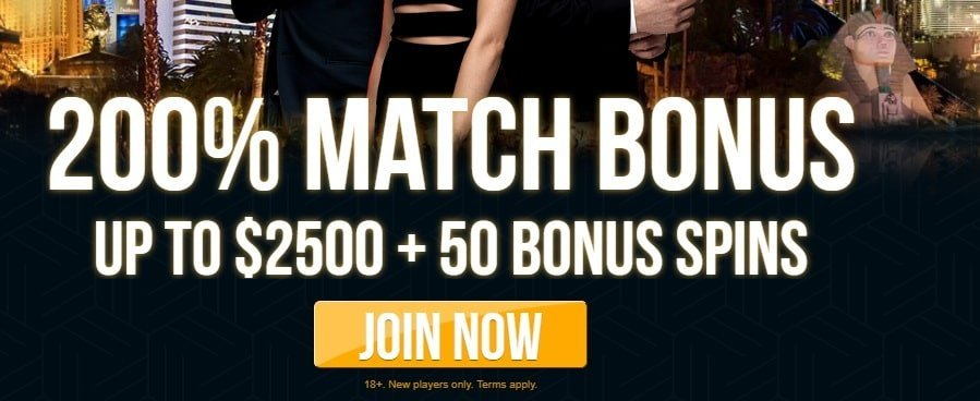 Dream Vegas Casino Claim 200 Up To 2500 50 Free Spins