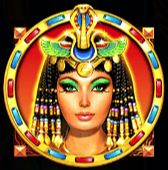 Queen of Gold Slot - Cleopatra Symbol