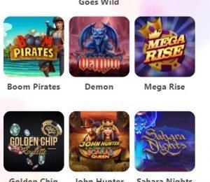 Dreamz Casino slot games