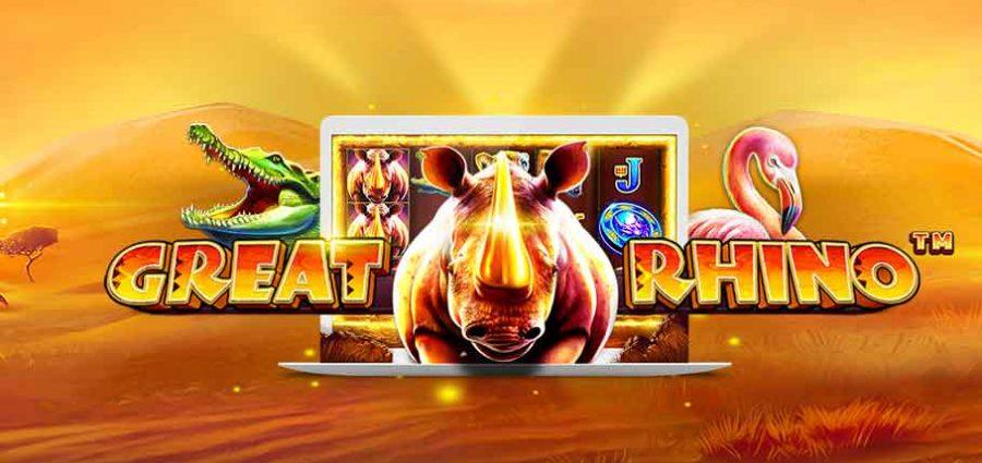 Great Rhino slot main