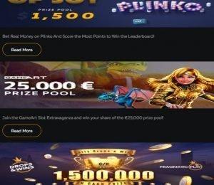 FortuneJack promotions