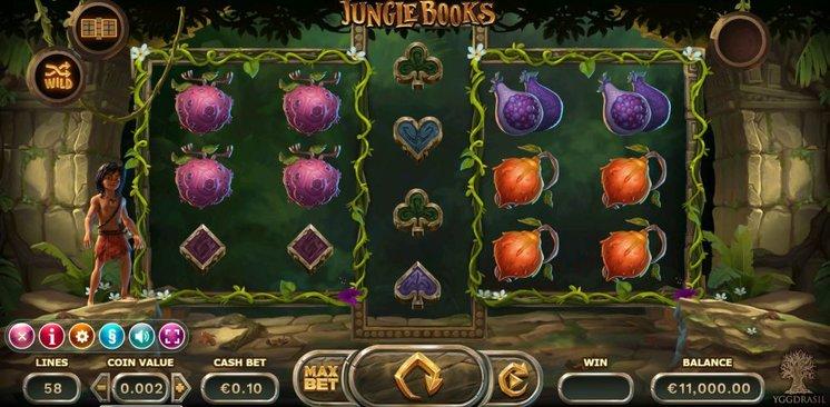 Jungle Books Slot Gameplay