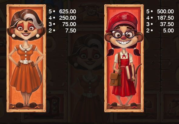 Meet the Meerkats Slot - Paytable