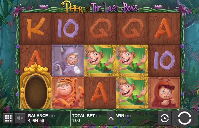 Peter and the Lost Boys Slot Gameplay-min