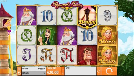 Rapunzel's Tower Slot Gameplay