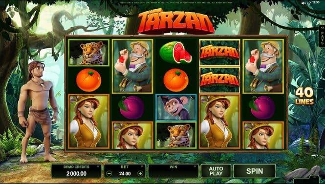 Tarzan Slot Gameplay-min