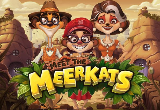Meet the Meerkats Slot Large banner