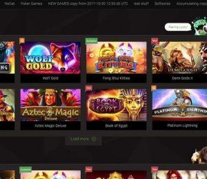 Bitstarz Casino - Games Lobby Screenshot (2)