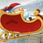 Fat Santa's sleigh feature