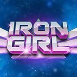 Iron Girl Slot Logo
