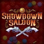 Showdown Saloon Slot Logo