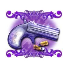 Showdown Saloon Slot - Purple Gun