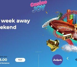 Casino Joy Landing Page