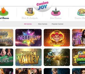 Casino Joy Lobby
