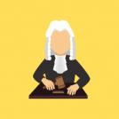 Animated Judge Cartoon