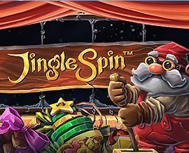 Jingle Spin Slot Logo