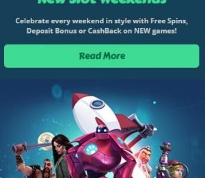 MyChance Casino promotions screenshot