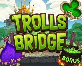 trolls bridge netent slot image