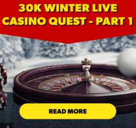 Rizk Live Casino Winter Promo Ad