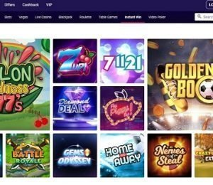 Party Casino top games