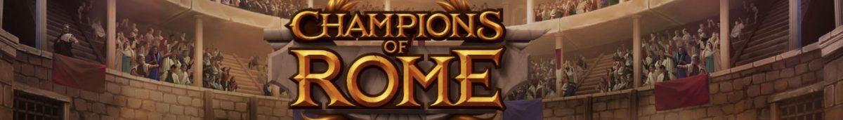 Champions of Rome Slot - Horizontal Image-min