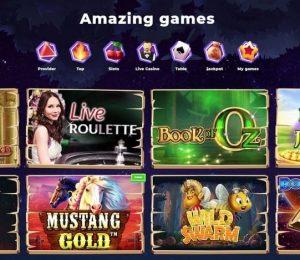 Wazamba Casino - Games Lobby Screenshot-min