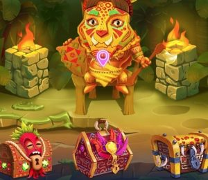 Wazamba Casino - Treasure chests bonus system