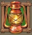 Wild Falls Slot - Lantern Symbol