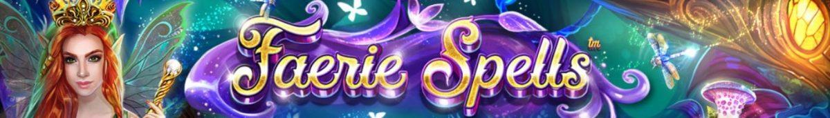 Faerie Spells Slot Banner-min