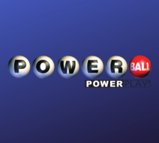 Powerball Logo Blue Background
