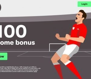 10 Bet Welcome Bonus page