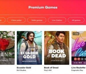 21 Casino Premium Games