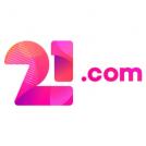 21.com 300 x 300 logo