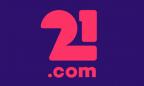 21.com 320 x 320 logo