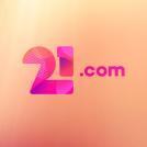 21.com logo 400 x 520 png