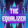 The Equalizer logo with 80s-style text and graphics