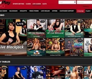 Power Play live casino