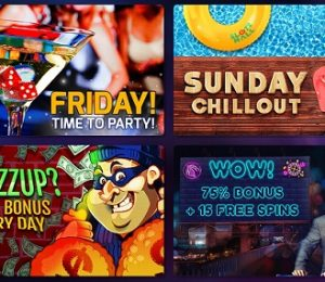 Slots Hall promotions