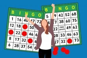 Bingo Winner Stock Image