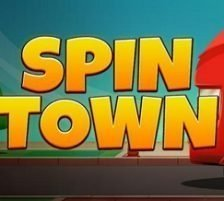 Spin Town square logo