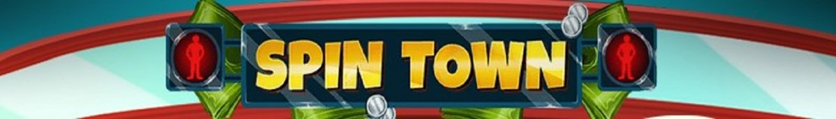 Spin Town title banner