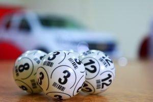 Lottery balls for Keno