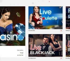 Zulabet live casino screenshot
