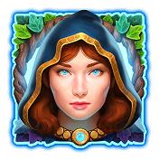Druid Priestess High Winning Ravens eye symbol