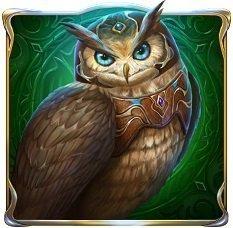 Rise of Merlin symbol - owl