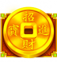 Caishen's Cash Gold Coin Symbol