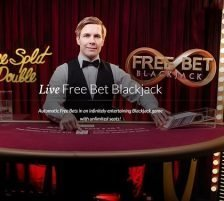 Evolution Gaming Live Free Bet Blackjack