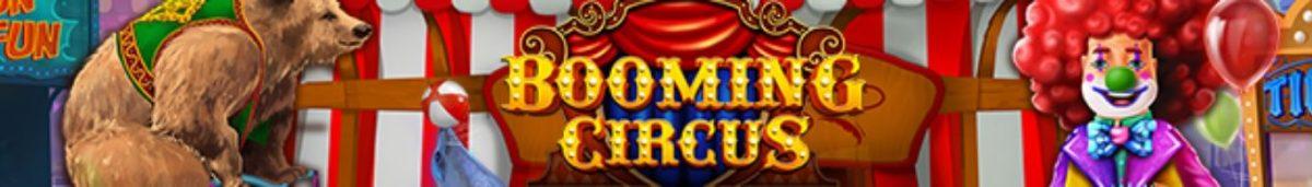 Booming Circus 1365 x 195