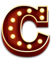 Booming Circus Letter Symbol