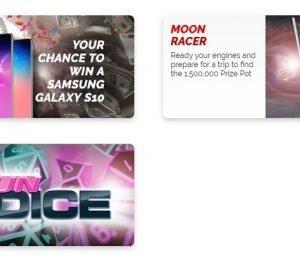 Casino Fair - Promotions page screenshot